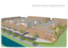 Publication cover - Dolphin House Masterplan and Phase I