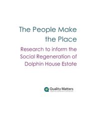 The People Make the Place - Dolphin Social Regeneration Report